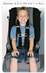 EZ-On Pro Kid Y Harness and Ride Ryte Booster